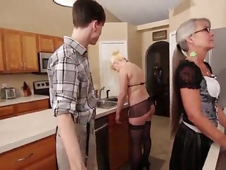 Mother plus Stepsis Three-Way after prerequisite - Leilani Lei Fifi Foxx