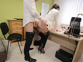 LOAN4K. Colleague drills indiscretion and sissy of new very...
