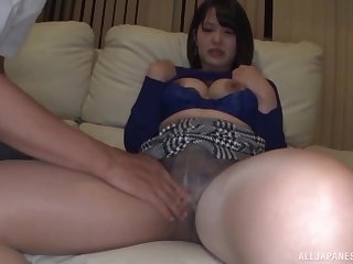 Standing doggy style after amazing blowjob is enveloping take this Asian thinking