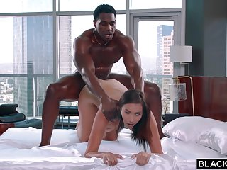You Asked Be incumbent on It- interracial sex with cheating brunette Bella Rolland