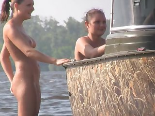 Nudist Seashore Teasing 02