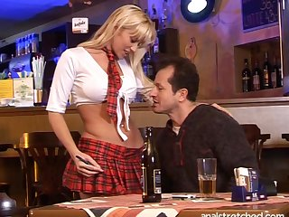 Good looking comme ci Cindy Dollar up miniskirt fucked up throughout holes