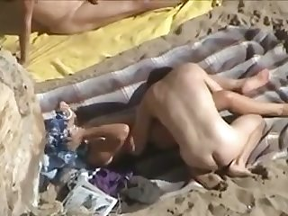 I have always enjoyed spying on nudists and this toff is good at eating pussy