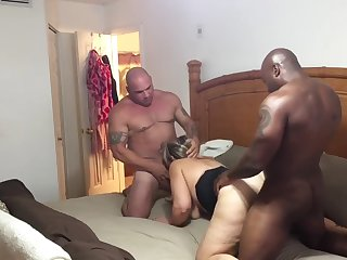 Tonya Kristine Pressed Wide of BBC Blether and Hubby