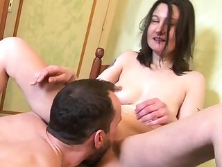 William fucks an housewife in her pantry