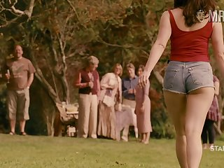 Curvy cinema star Gemma Arterton flashing their way boobs in a sexy compilation