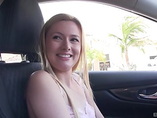Seductive blonde Kennedy Kressler knows how to excursion a cock
