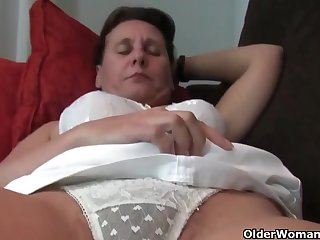 Mature, Euro women, Emenuelle, Inge and Sabine are often masturbating in front of the camera