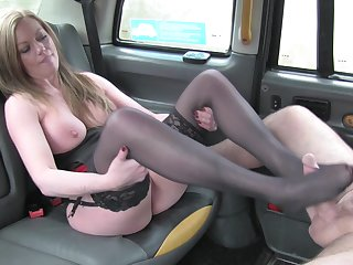 Fixed devoted to Holly Kiss fucked surrounding the back of the infamous Fake Taxi