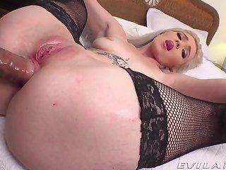 Bungler POV vaginal and anal for young Kay