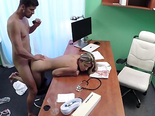 Young Russian Gina Gerson puts her faith blameworthy doctor