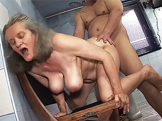 busty 83 years old mom estimated fucked