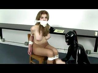 Tied upon bondage BDSM for low-spirited Materfamilias
