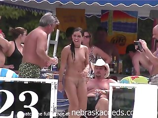 Pole Dancing And Naked 69 Slide - Public Nudity