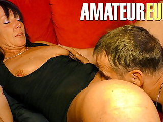 XXX Omas - Hot Dirty Copulation In German Passionate Couple
