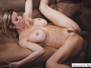 Alexis Fawx is so sexy hither her flawless body plus she loves big black cocks