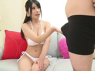 Hot JAV porn showcasing the talents of adorable Hanaoka Kana