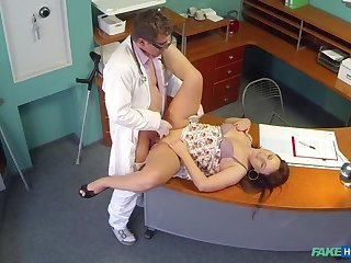 Doctors meat launching run eases curvy patients back pain