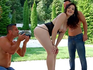 Superb DP leads hot joyless to finest orgasms