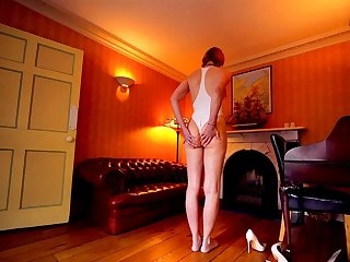 Curvy ass brunette spanked banged facialized